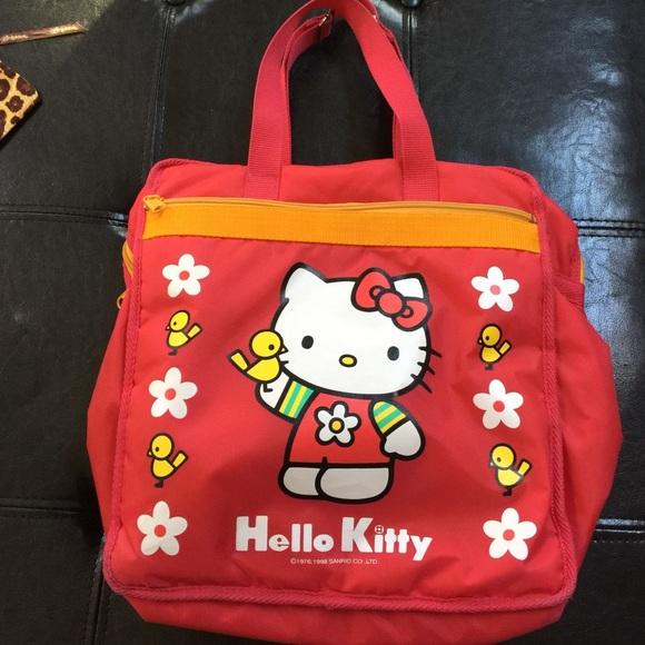 bea4d912e7 Hello Kitty Handbags - Vintage Hello Kitty Bag Tote