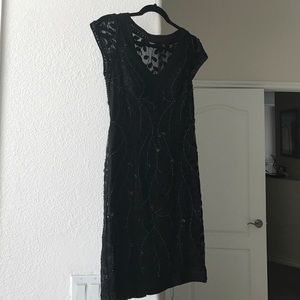 NEW with tags on beaded SUE WONG dress