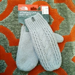 North Face Accessories - Women's North Face Fleece-Lined Mittens