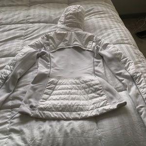 Brand New Lululemon White Winter Coat