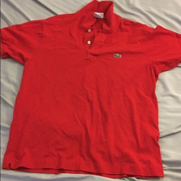 8055a2b7d4a89 Red Lacoste polo shirt. Lacoste. M 585997f7c28456f9dc083e91.  M 585997f7c28456f9dc083e91