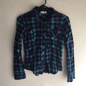 anchor blue  Other - Girls kids flannel