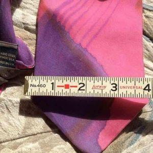Vintage Accessories - Vintage Handpaint Robert Talbot Nordstrom Art Tie