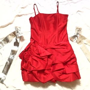 Dresses & Skirts - NEW! Red Strap Cocktail Dress!