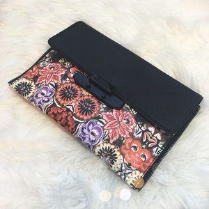 Rebecca Minkoff Handbags - Rebecca Minkoff Floral Zipper Envelope Clutch