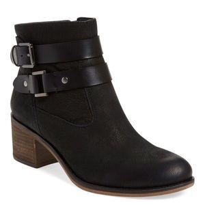 Franco Sarto Shoes - Franco Sarto Black Strappy Ankle Booties