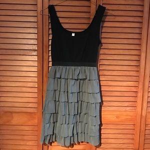 XHILARATION black/grey dress