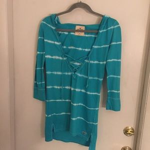 Hollister Lace up tunic