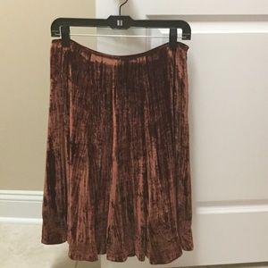 Reba Dresses & Skirts - Reba velvet skirt NWOT