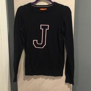 Joe Fresh Sweaters - Joe Fresh Navy J Sweater