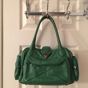 Botkier Handbags - 🛍 Botkier Green Leather Tote Bag