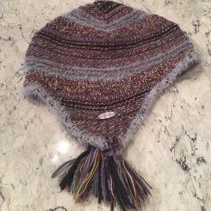 Columbia knit tassel hat