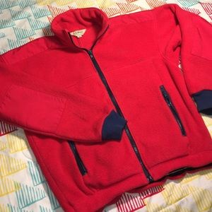 L.L. Bean Jackets & Blazers - LL Bean Zip Up Fleece Jacket