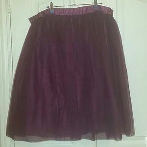 NWOT GORGEOUS tulle tutu skirt