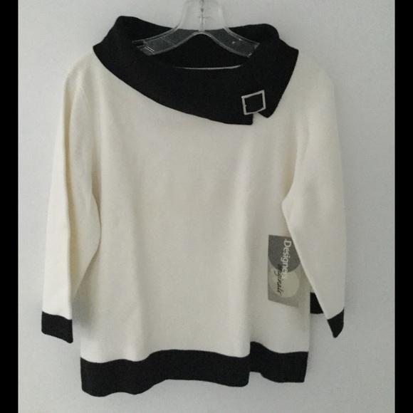 50% off Designers Originals Sweaters - Women's Black & White ...