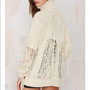 8e7c442fddc5 Nasty Gal Sweaters - Ocposh30 let s shred turtleneck sweater