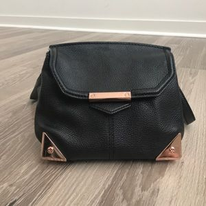 Alexander Wang Handbags - Alexander Wang Marion rose gold/Black leather bag
