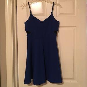 Blue Detailed Dress