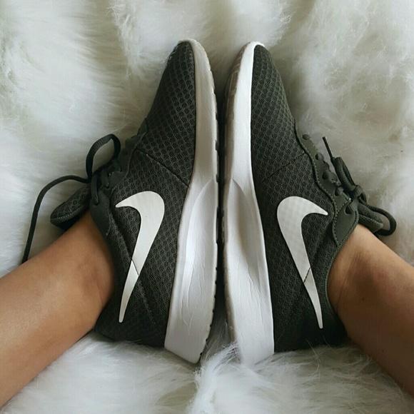 Nike Shoes | Nike Tanjun Olive Green