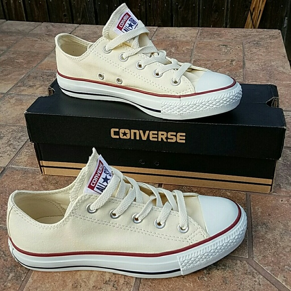 f6d69e757c6f New Converse All Star Ox Natural White size4M