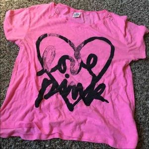 VS PINK t shirt