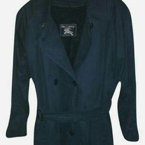 Burberry Jackets & Blazers - 💕💕BURBERRY TRENCH💕RARE BLUE💕10M💕
