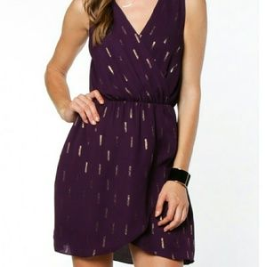 Everly Dresses & Skirts - Purple v-neck dress