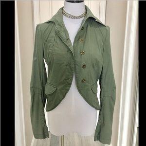 andrew & co Jackets & Blazers - Army green jacket-SO CUTE!
