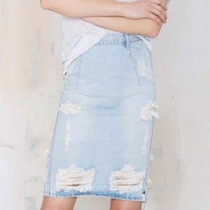 J#27 one teaspoon Freelove skirt