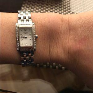 Longines Jewelry - More pics of Longines watch with pave diamonds