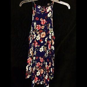 Forever 21 Dresses & Skirts - Floral Open-Shoulder Dress