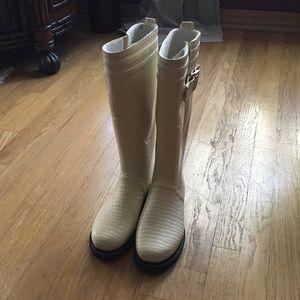 Ilse Jacobsen Shoes - Ilse Jacobsen Hornbaek White Tall Rain Boots