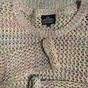 Angie Sweaters - Angie Gorgeous Open Weave Sweater🎀