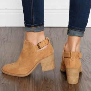 Shoes - 🚨1 HR SALE🚨JOSIE cut out bootie