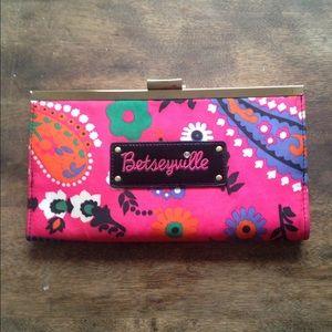 Betsey Johnson Handbags - Betsey Johnson Clutch