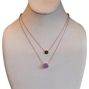 Michael Kors Amethyst Pendant Necklace MKJ5475710