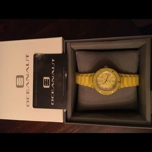 Oceanaut Jewelry - Yellow Oceanaut Sport Watch