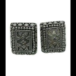 john hardy Jewelry - John Hardy, Sterling silver, large stud earrings