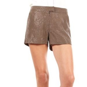 Pants - Sequin Trouser Shorts