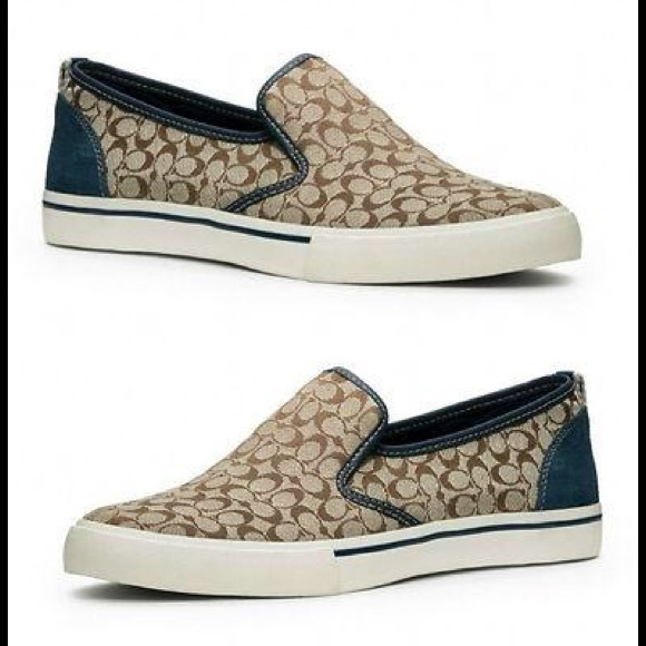 d637f991 Coach Women's Chrissy Slip-Ons Tennis Shoes