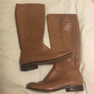 Corso Como Shoes - Corso Como Leather Boots- Tan size 7 1/2
