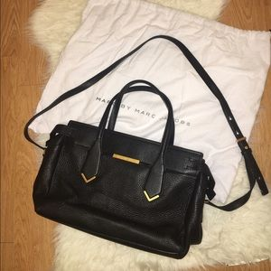 Marc by Marc Jacobs GENUINE LEATHER satchel