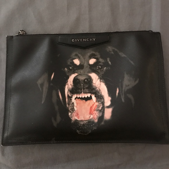 9ec156402c Givenchy Handbags - Givenchy Rottweiler clutch