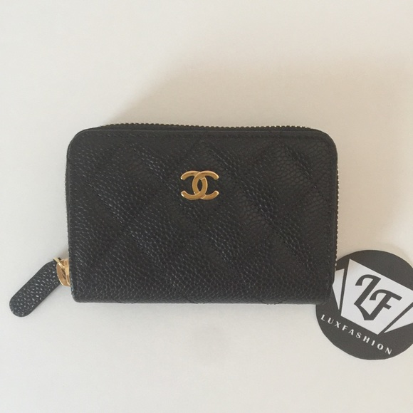 1ac04e100ecd CHANEL Bags | Authentic Classic Card Holder O Coin Purse | Poshmark