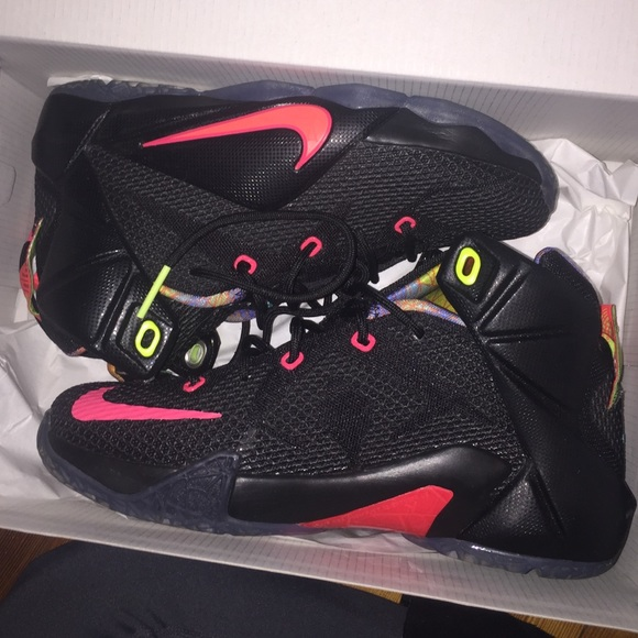 more photos 2e802 a8282 Black Lebron twelves size 5Y NEW IN BOX jordans NWT