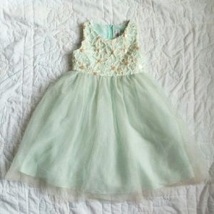 Rare Editions Other - Mint & tulle party dress