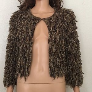 Vivienne Tam - Fringe Crop Jacket