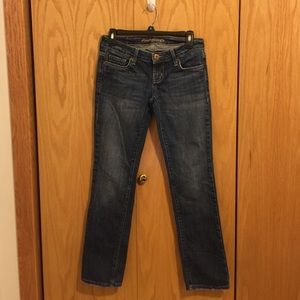 American Eagle Outfitters Denim - American Eagle Straight Leg Jeans Short