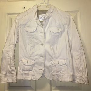 Abercrombie and Fitch Cotton Blazer