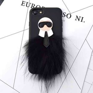 Chanel's Karl Lagerfeld iPhone Case!